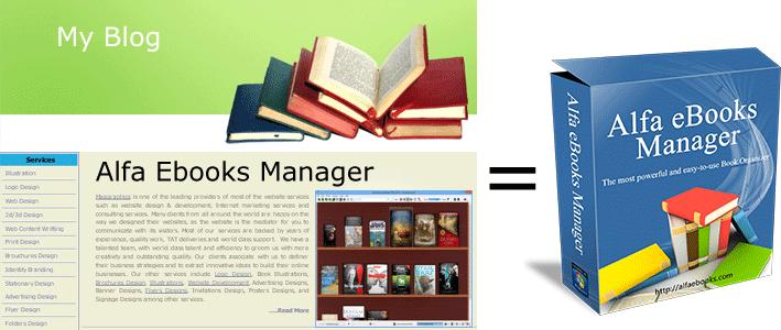 Resultado de imagen para Alfa eBooks Manager Pro